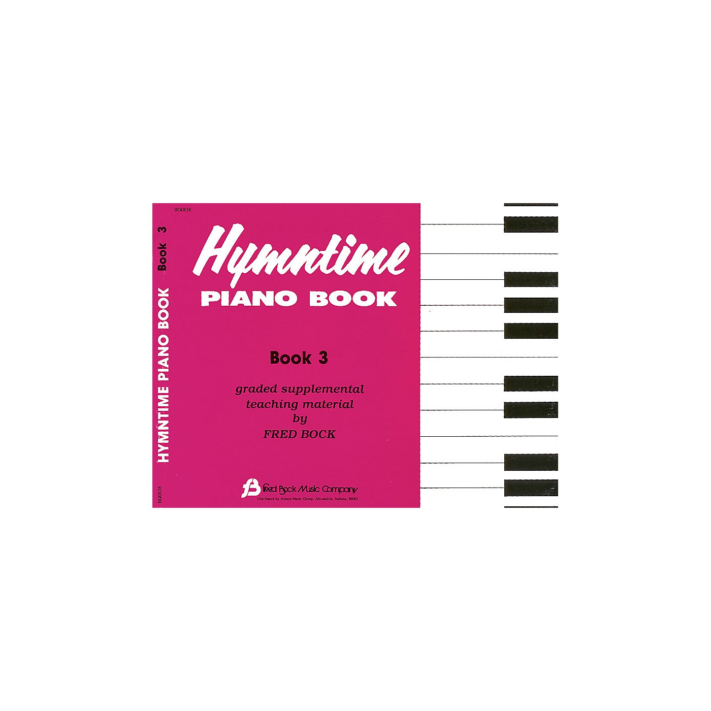 Fred Bock Music Hymntime Piano Book #3 Children's Piano Arranged by Fred Bock thumbnail