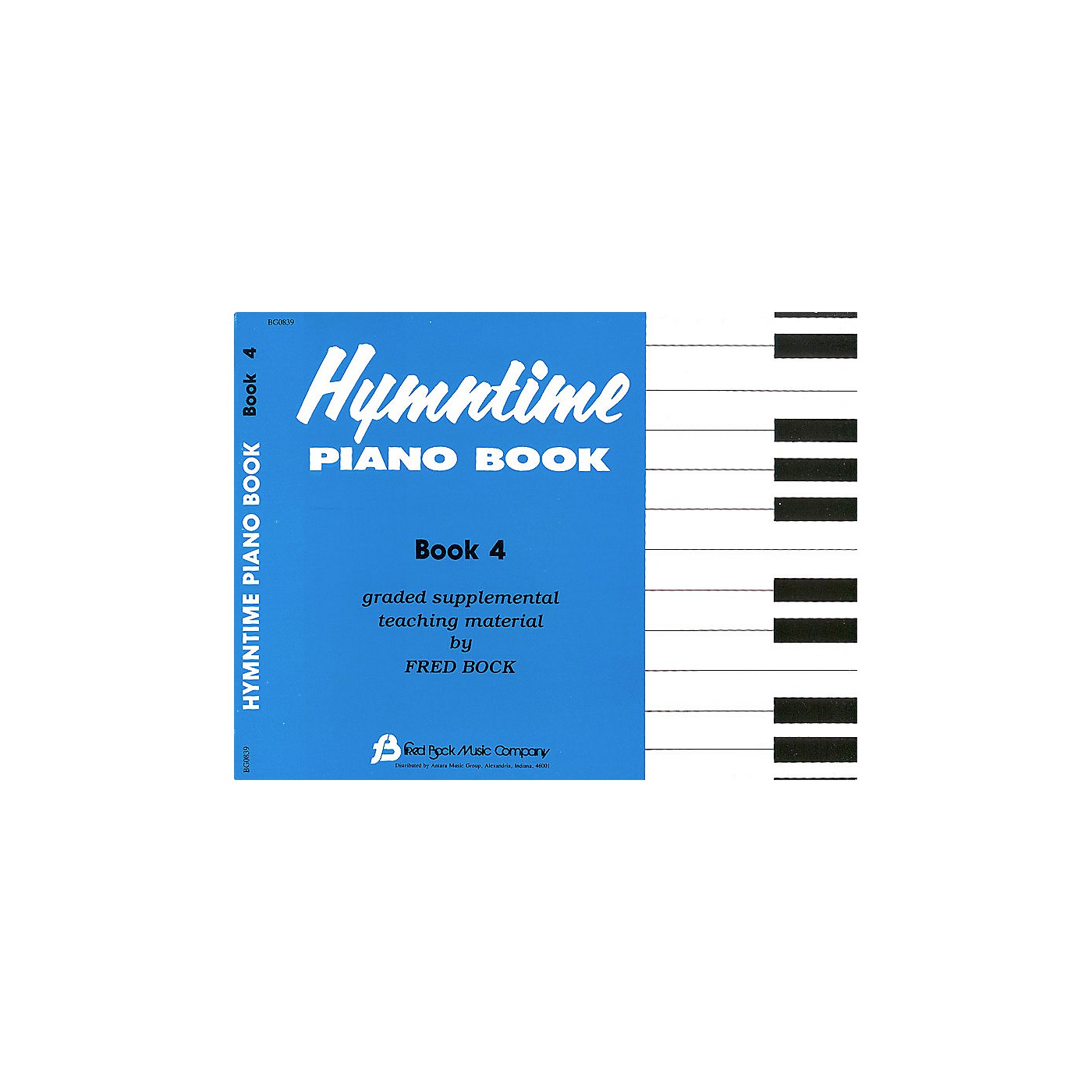Fred Bock Music Hymntime Piano Book #4 Children's Piano Arranged by Fred Bock thumbnail
