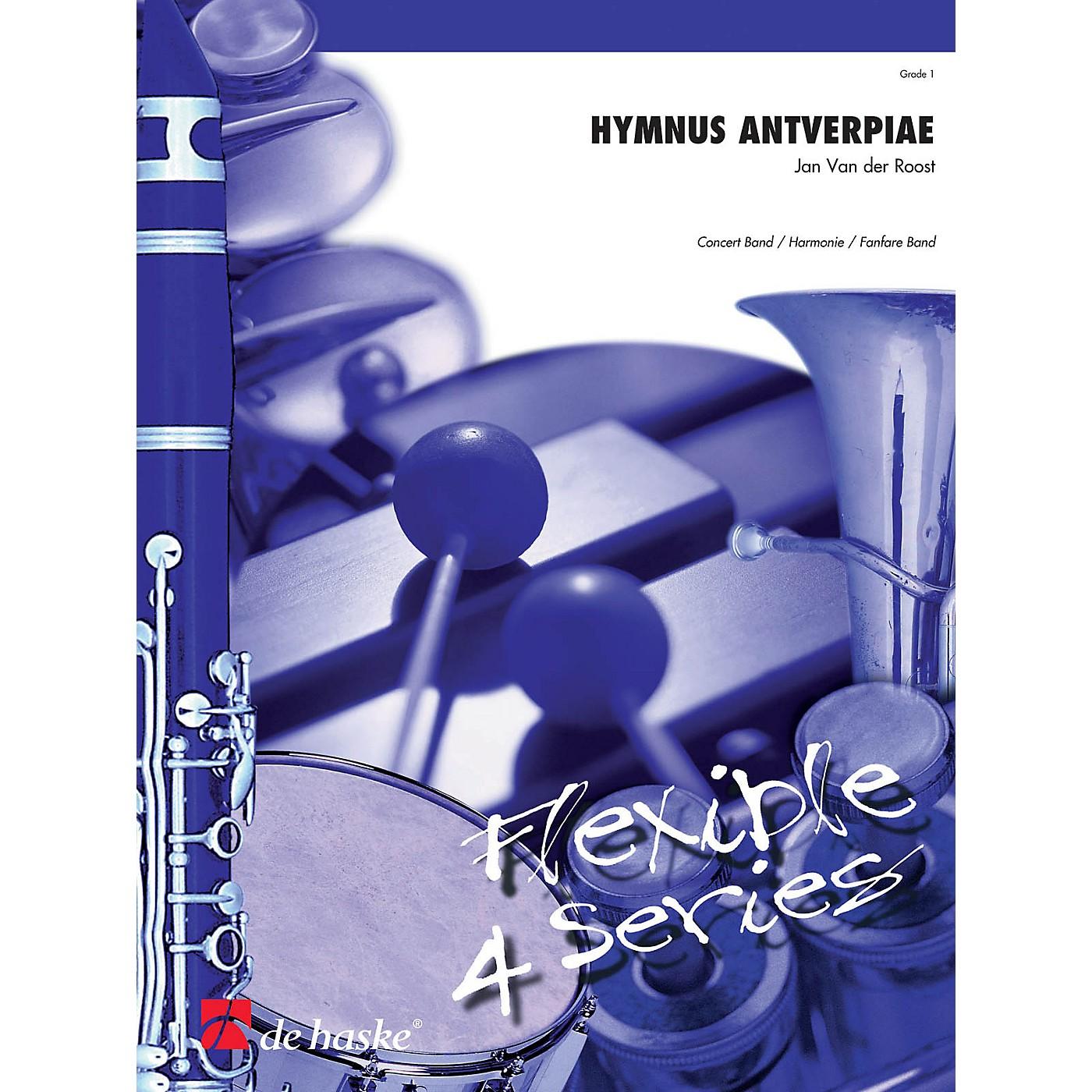 De Haske Music Hymnus Antverpiae (Flexible Series) Concert Band Level 1 Composed by Jan Van der Roost thumbnail