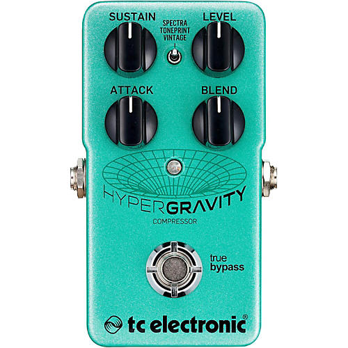 TC Electronic HyperGravity Compressor Guitar Pedal thumbnail