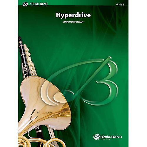 Alfred Hyperdrive Concert Band Grade 2 Set thumbnail
