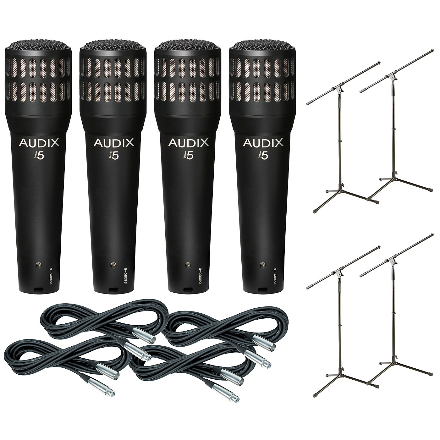 Audix I-5 Mic with Cable and Stand 4 Pack thumbnail