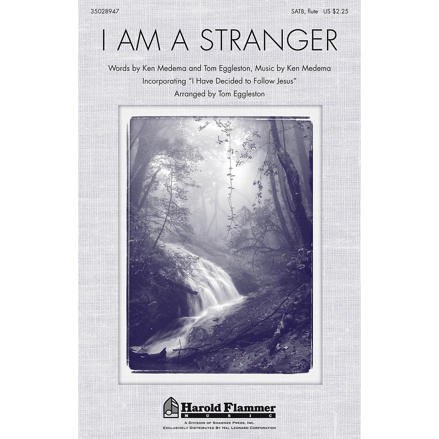 Shawnee Press I Am A Stranger SATB arranged by Tom Eggleston thumbnail