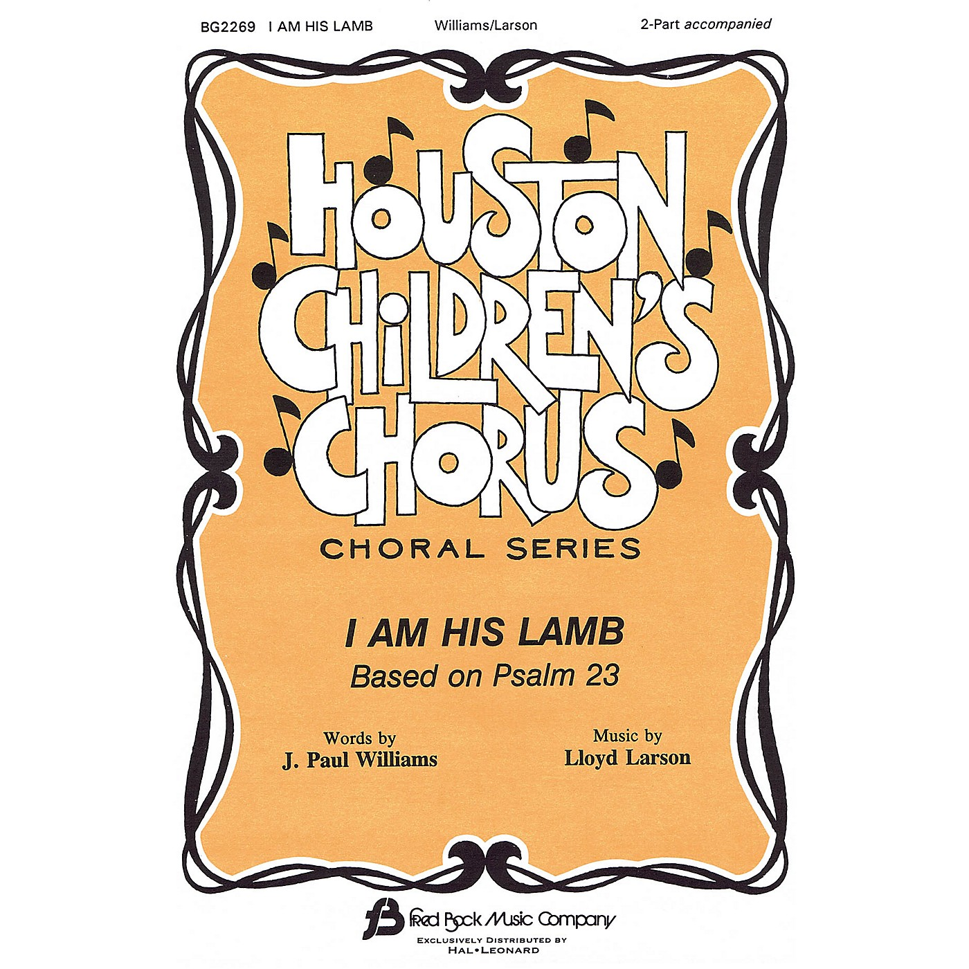 Fred Bock Music I Am His Lamb 2-Part composed by J. Paul Williams thumbnail