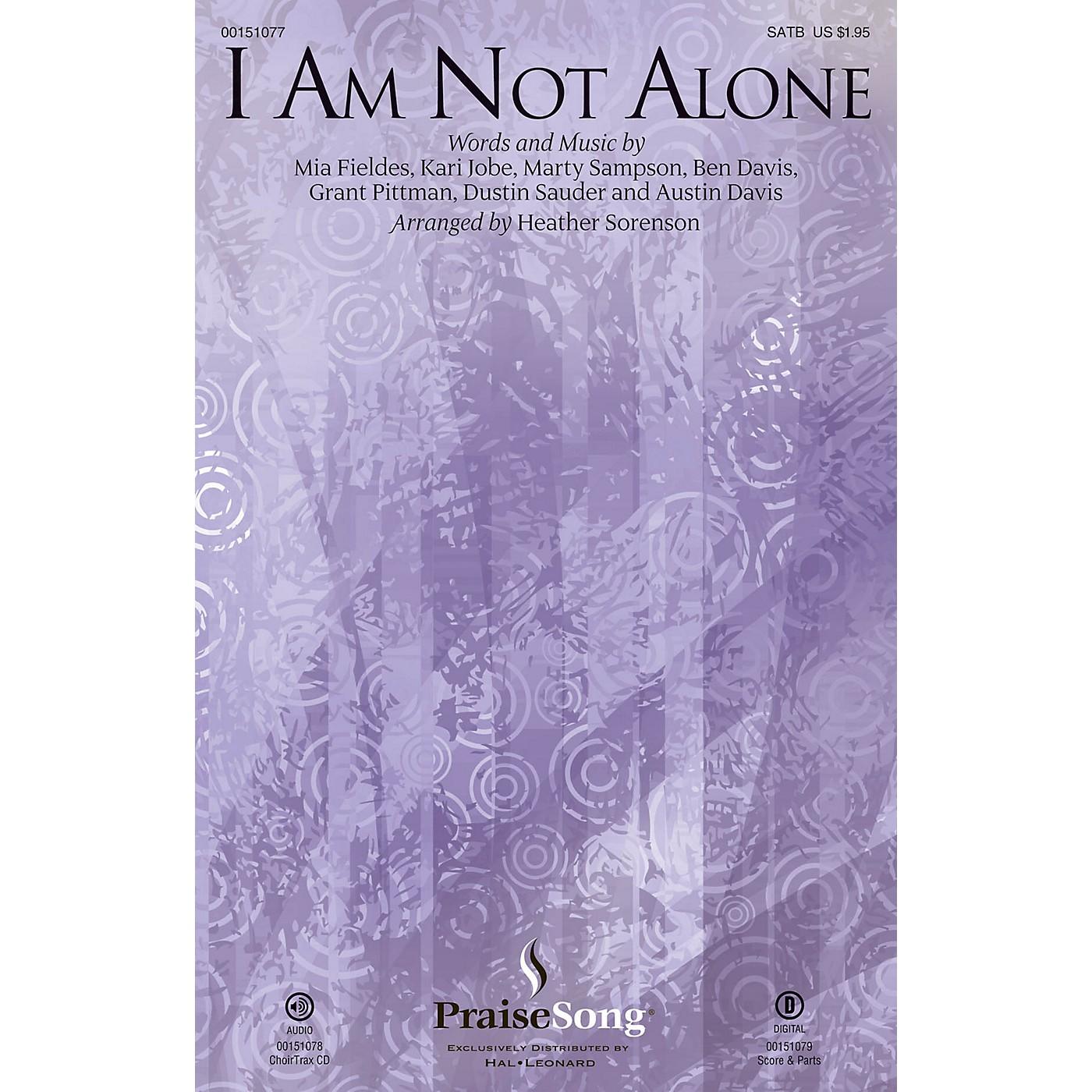 PraiseSong I Am Not Alone CHOIRTRAX CD by Kari Jobe Arranged by Heather Sorenson thumbnail
