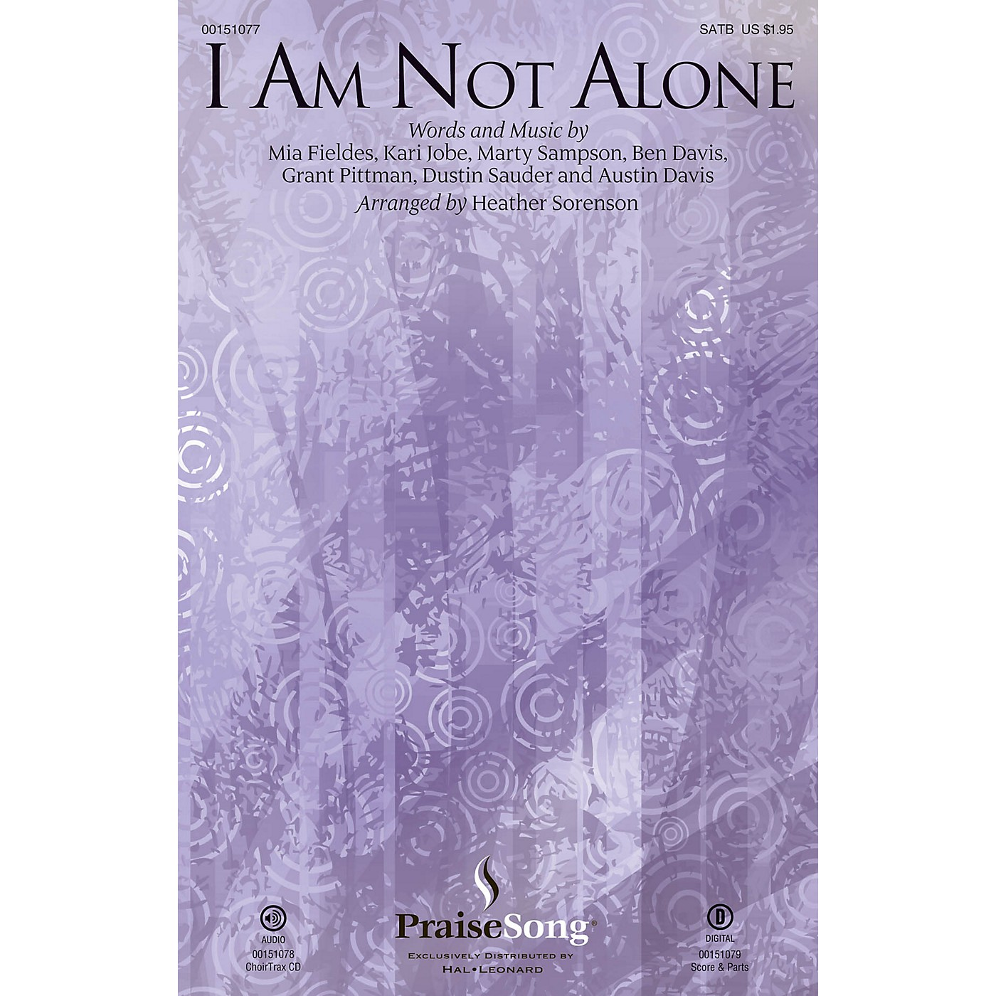 PraiseSong I Am Not Alone SATB by Kari Jobe arranged by Heather Sorenson thumbnail