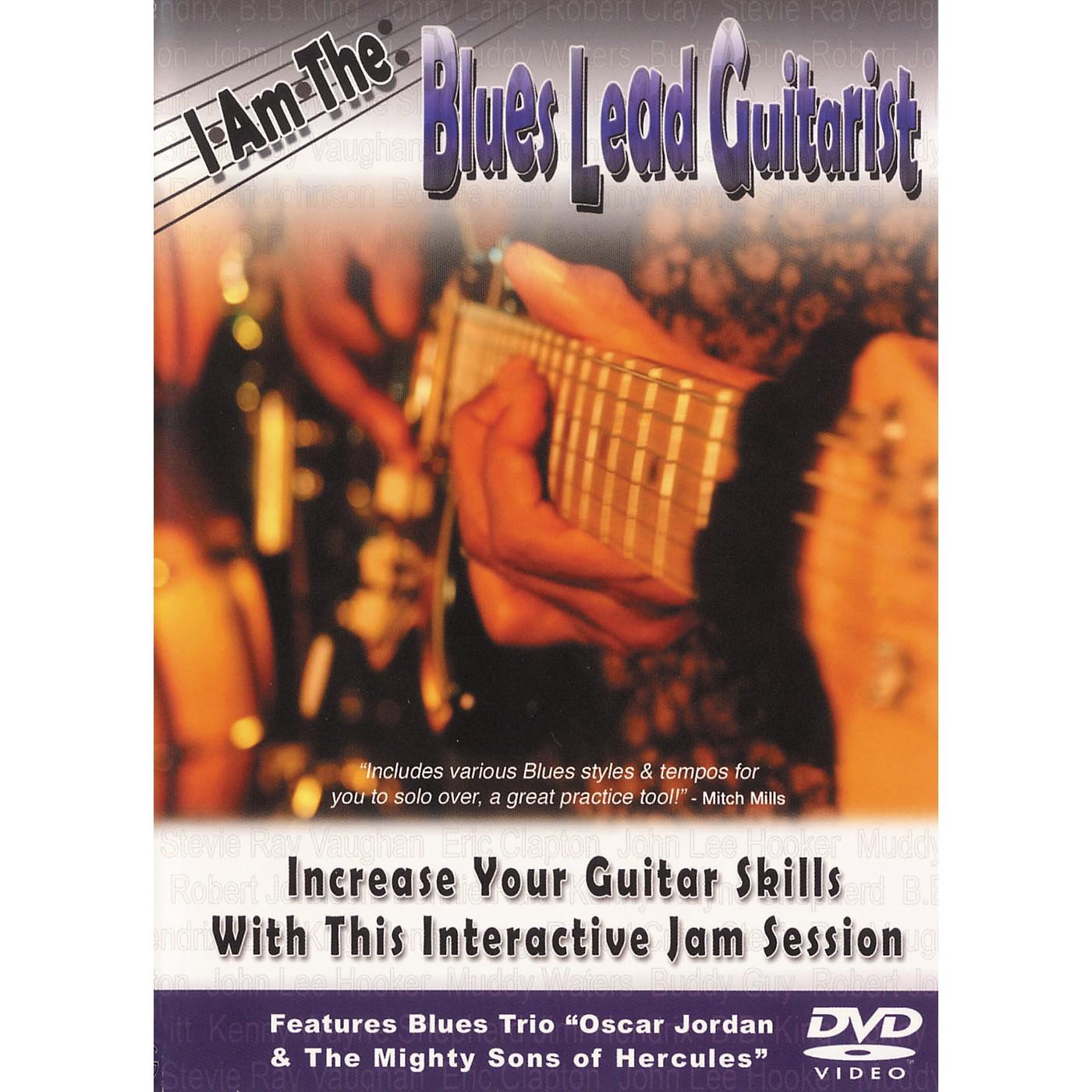 Hal Leonard I Am The Blues Lead Guitarist DVD thumbnail