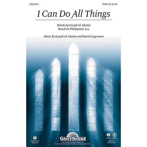Shawnee Press I Can Do All Things Studiotrax CD Composed by Joseph M. Martin thumbnail