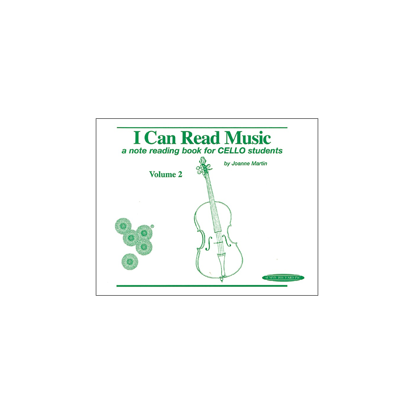 Alfred I Can Read Music for Cello, Volume 2 Book thumbnail