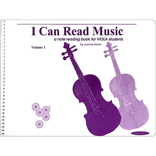 Alfred I Can Read Music for Viola, Volume 1 Book thumbnail