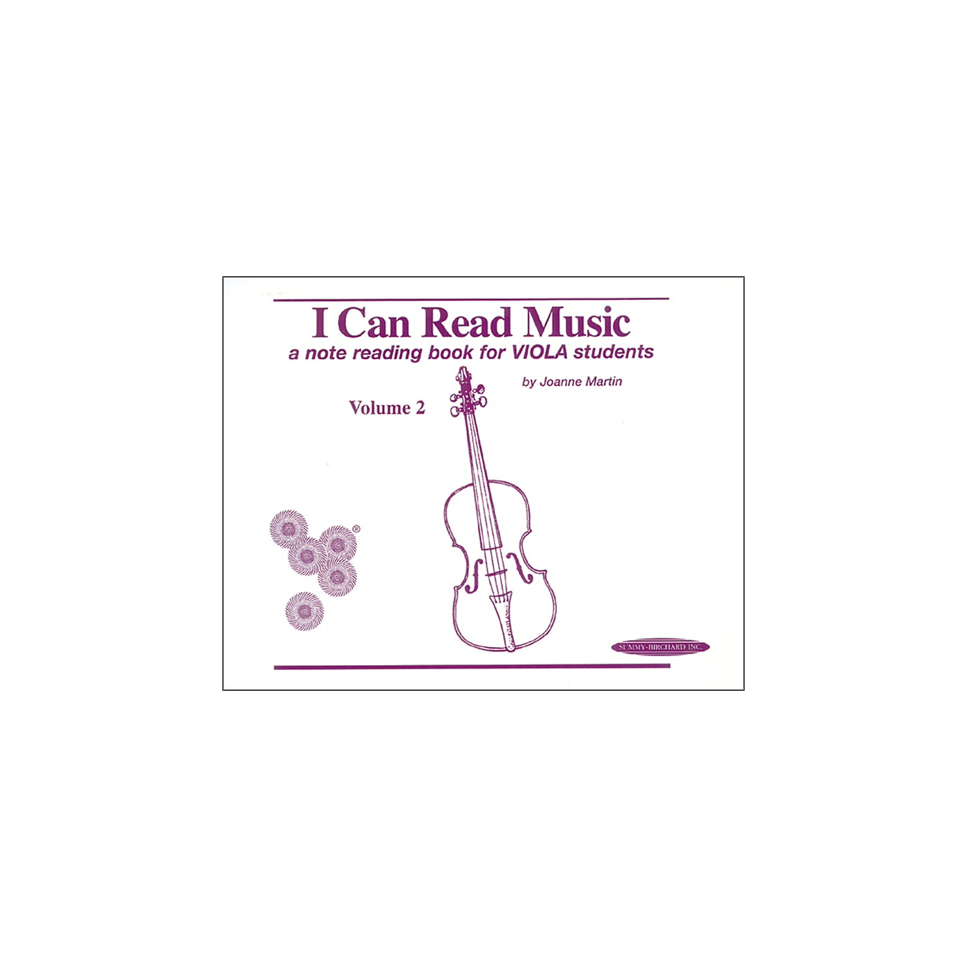 Alfred I Can Read Music for Viola, Volume 2 Book thumbnail