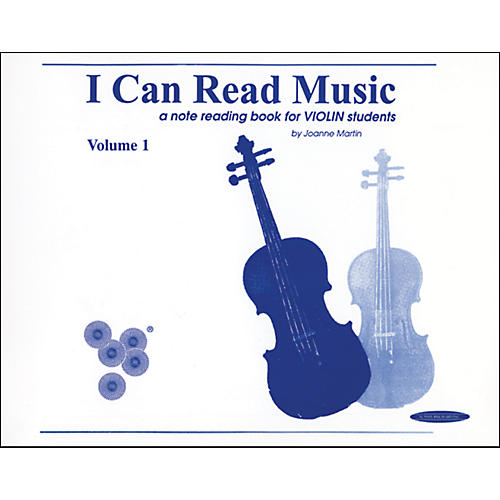 Alfred I Can Read Music for Violin, Volume 1 Book thumbnail