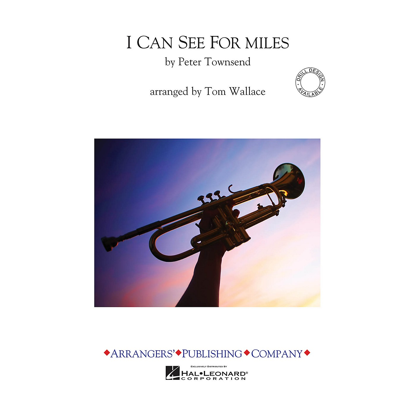 Arrangers I Can See for Miles Marching Band Level 3 Arranged by Tom Wallace thumbnail