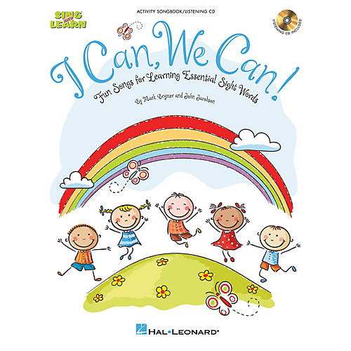 Hal Leonard I Can, We Can! (Fun Songs for Learning Essential Sight Words) CLASSRM KIT Composed by Mark Brymer thumbnail