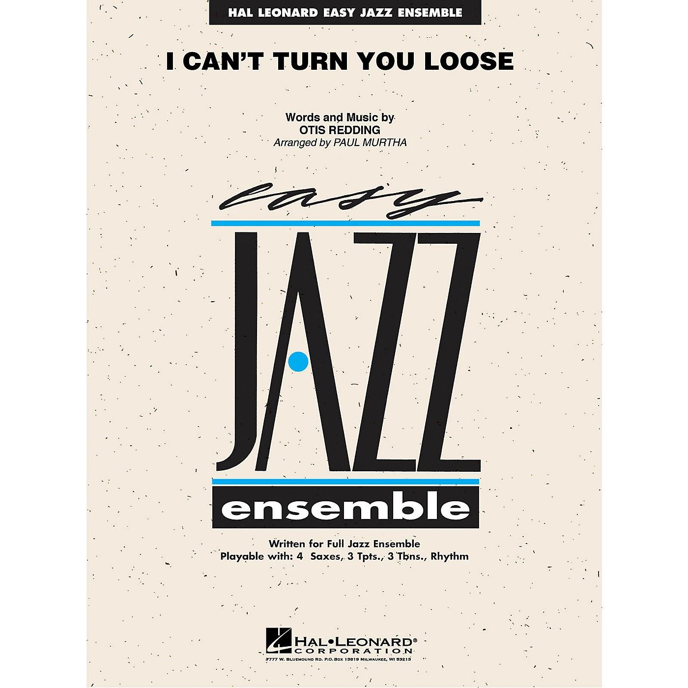 Hal Leonard I Can't Turn You Loose Jazz Band Level 2 Arranged by Paul Murtha thumbnail