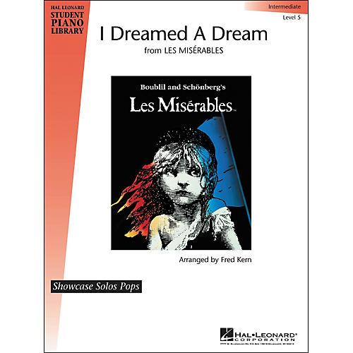 Hal Leonard I Dreamed A Dream Level 5 Showcase Solo Hal Leonard Student Piano Library by Fred Kern thumbnail