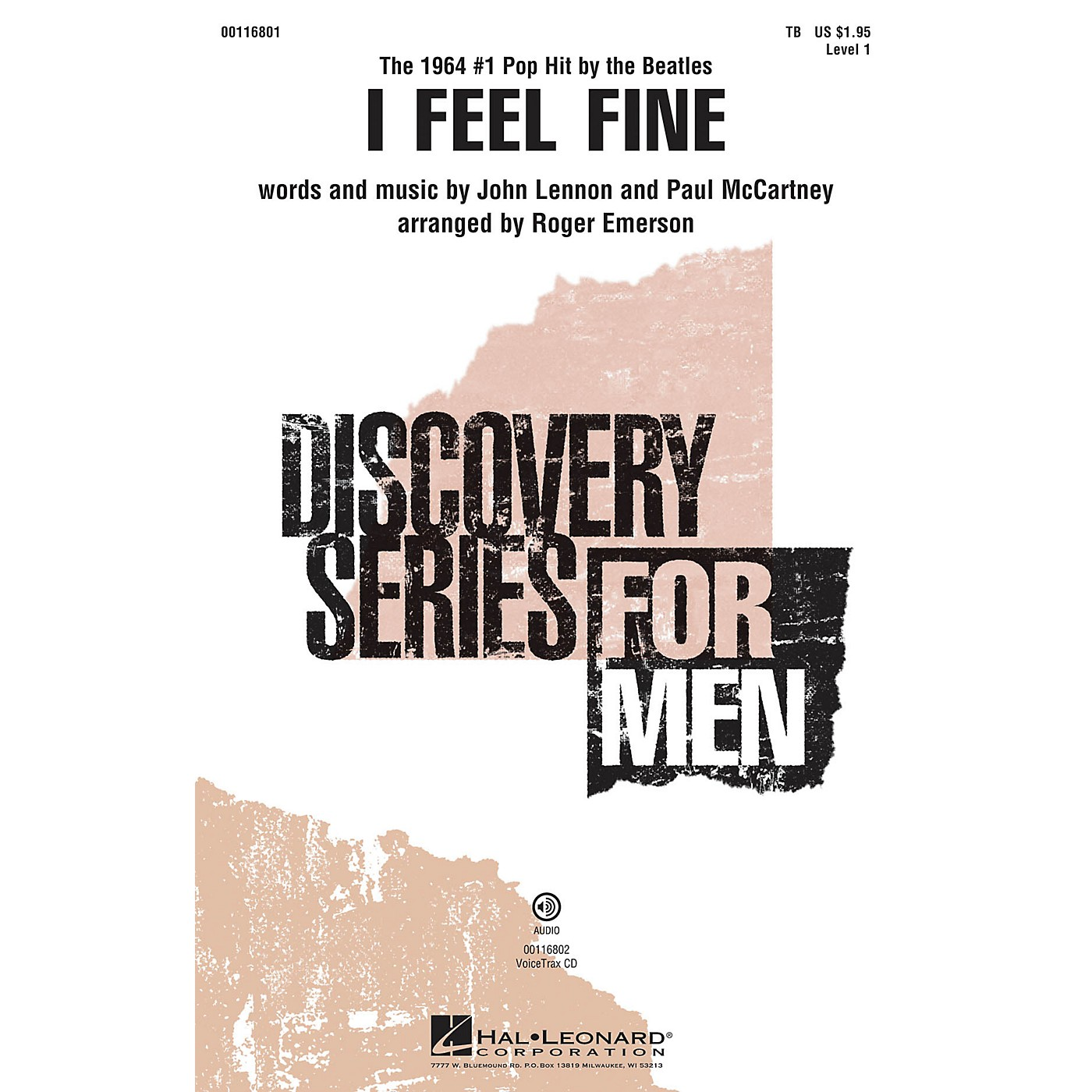Hal Leonard I Feel Fine (Discovery Level 1) VoiceTrax CD by The Beatles Arranged by Roger Emerson thumbnail