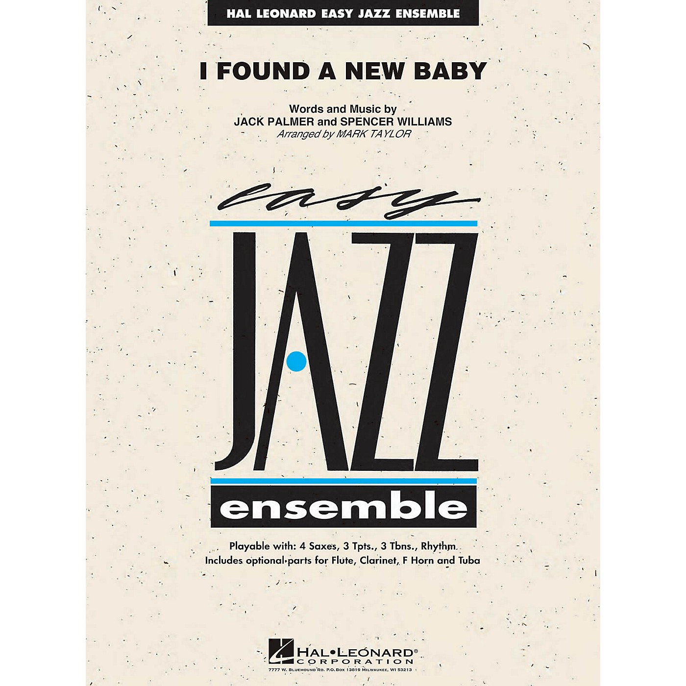 Hal Leonard I Found a New Baby Jazz Band Level 2 Arranged by Mark Taylor thumbnail