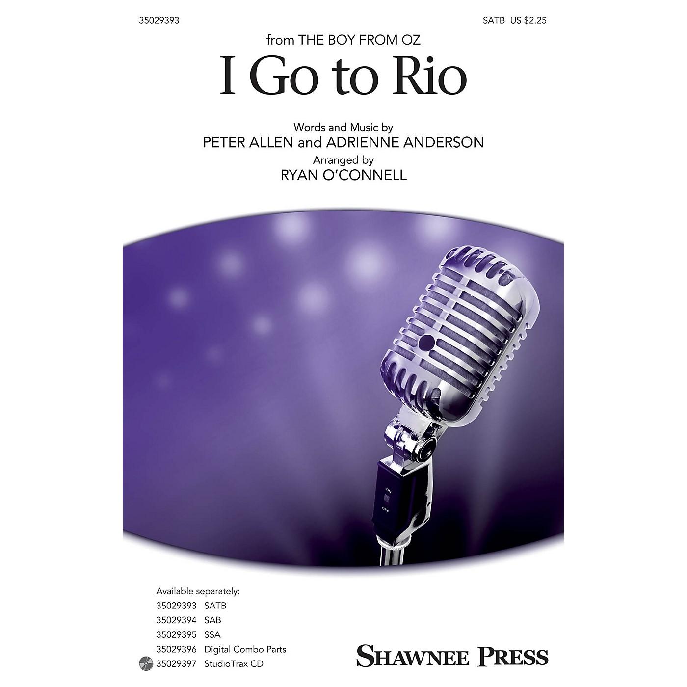 Shawnee Press I Go to Rio SATB arranged by Ryan O'Connell thumbnail