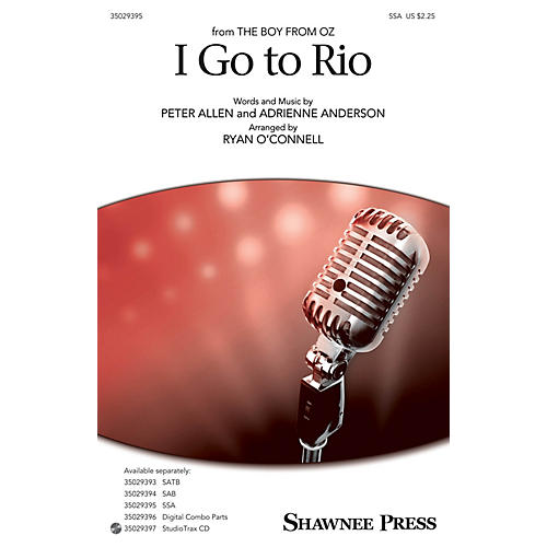 Shawnee Press I Go to Rio SSA arranged by Ryan O'Connell thumbnail