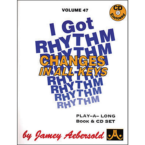 Jamey Aebersold I Got Rhythm-Changes In All Keys Book and CD thumbnail