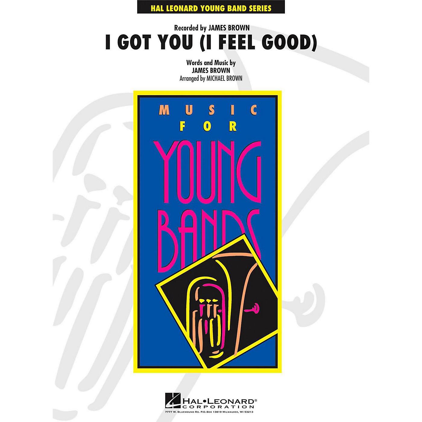 Hal Leonard I Got You (I Feel Good) - Young Concert Band Level 3 thumbnail