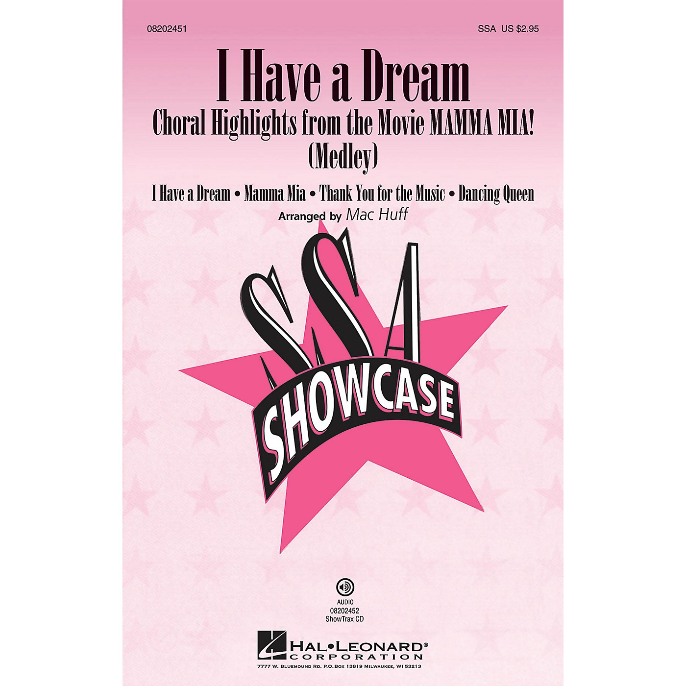 Hal Leonard I Have a Dream (Choral Highlights from The Movie Mamma Mia!) ShowTrax CD by ABBA Arranged by Mac Huff thumbnail