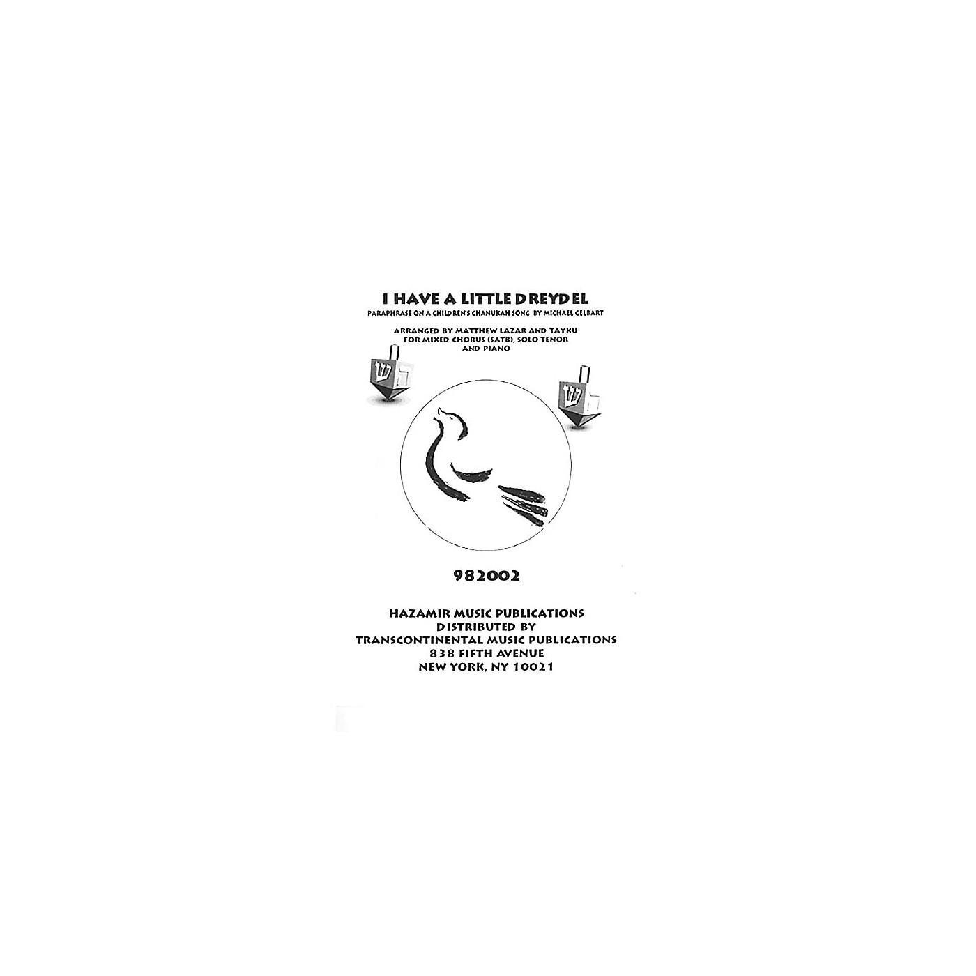 Transcontinental Music I Have a Little Dreydel SATB arranged by Tayku thumbnail