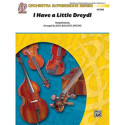 Alfred I Have a Little Dreydl Orchestra Grade 1 Set thumbnail