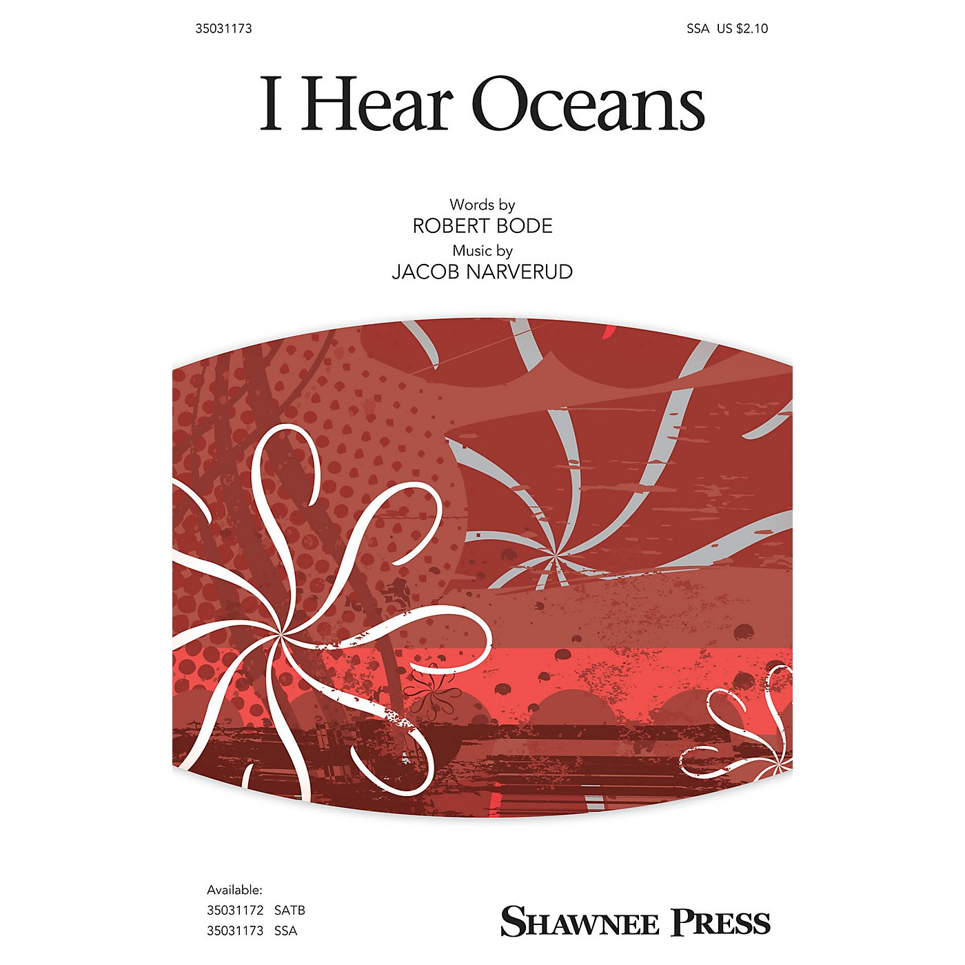 Shawnee Press I Hear Oceans SSA composed by Jacob Narverud thumbnail