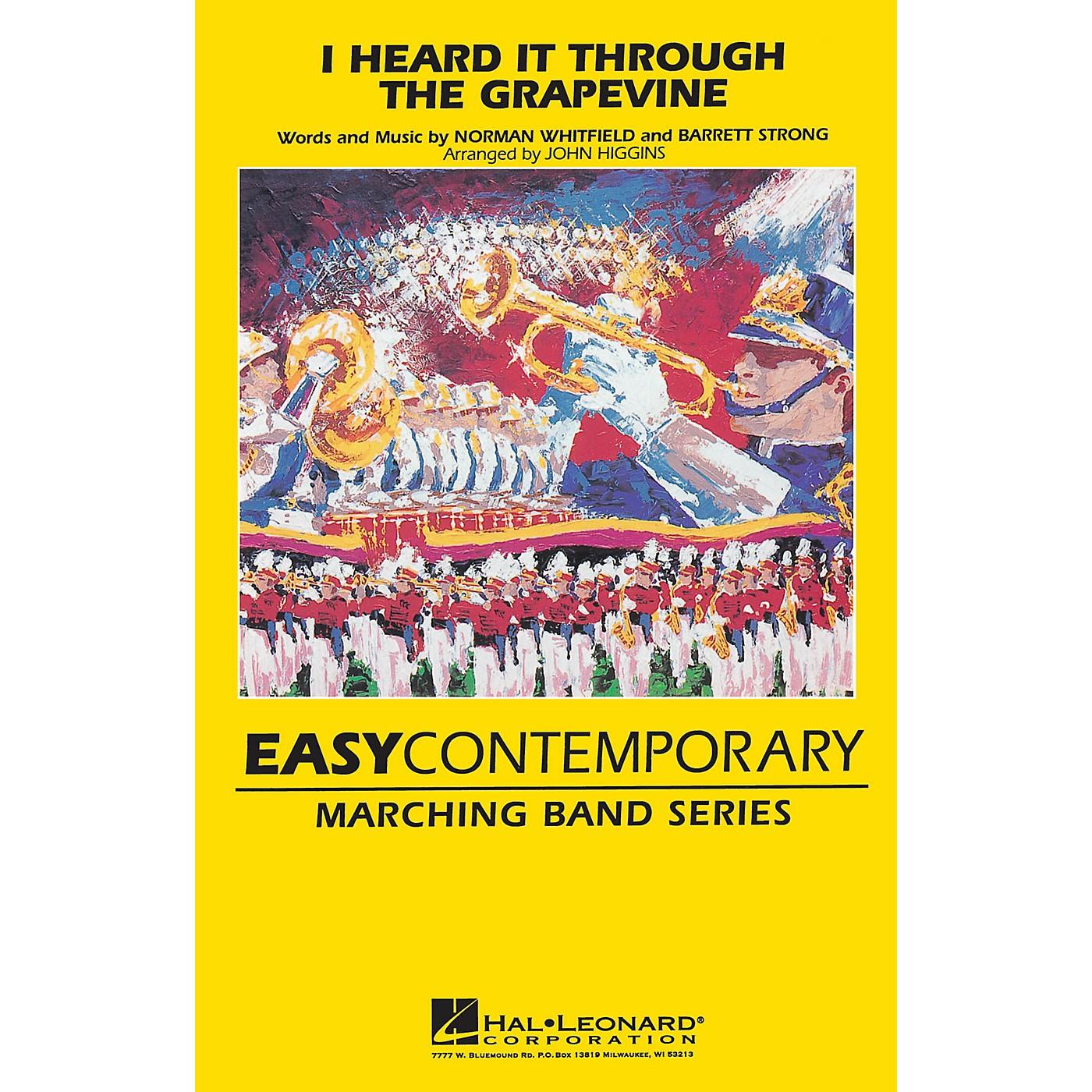 Hal Leonard I Heard It Through the Grapevine Marching Band Level 2 Arranged by John Higgins thumbnail