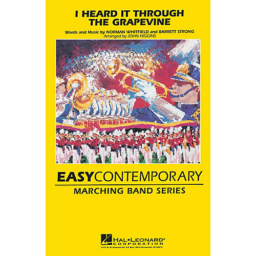Hal Leonard I Heard It Through the Grapevine Marching Band Level 2 Arranged by John Higgins thumbnail