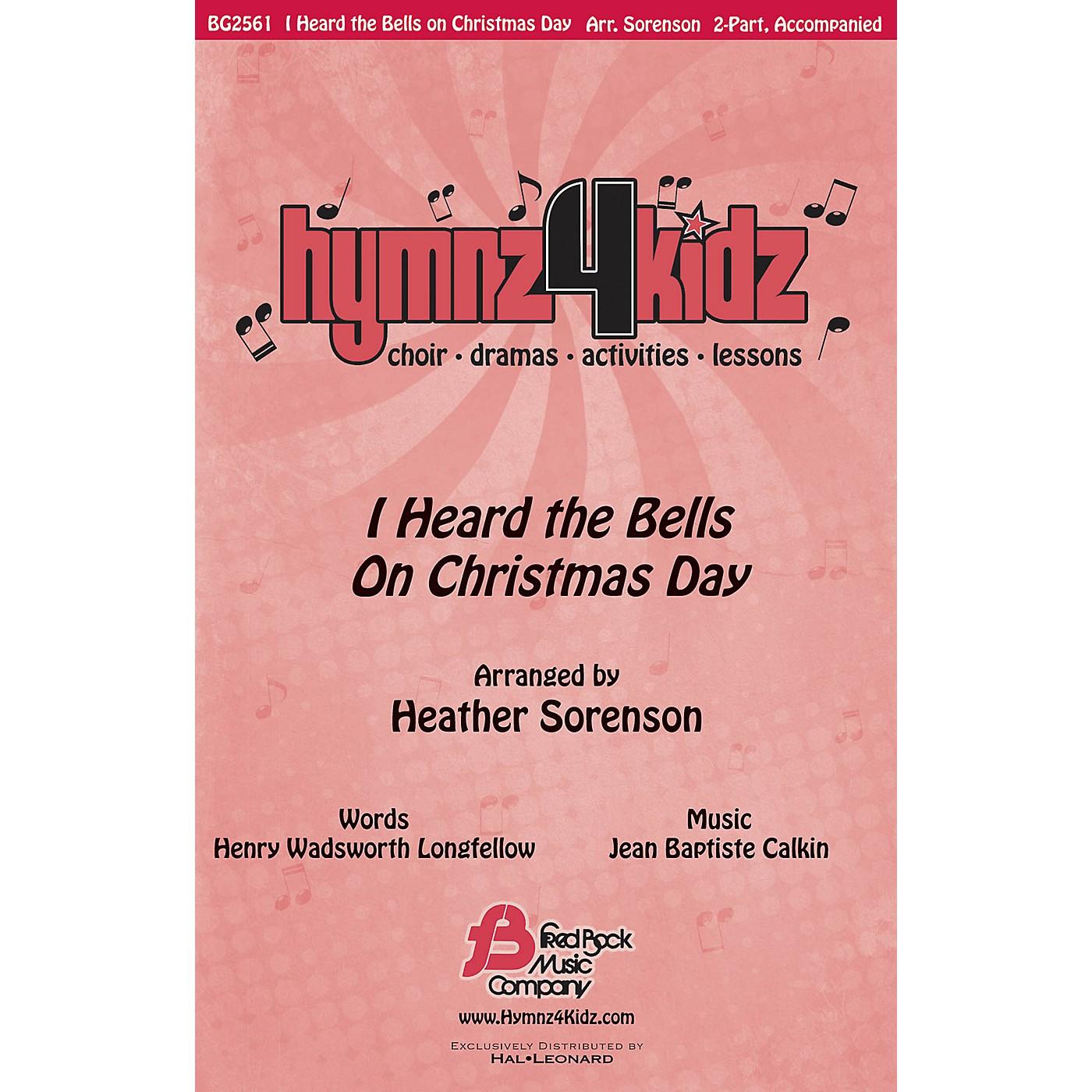 Fred Bock Music I Heard the Bells on Christmas Day (Hymnz 4 Kidz Series) 2-Part arranged by Heather Sorenson thumbnail