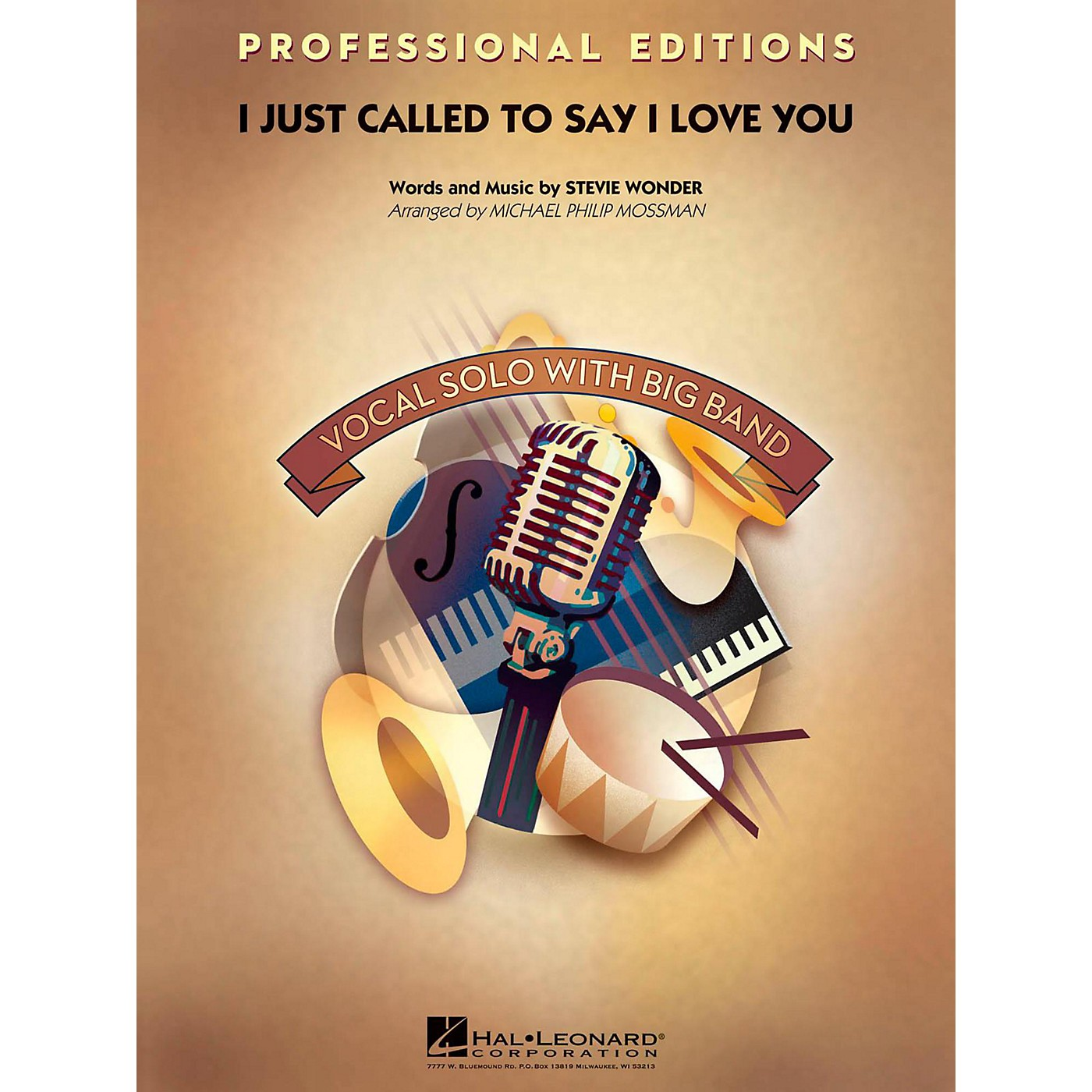 Hal Leonard I Just Called To Say I Love You Professional Edition with Vocal Solo Level 5 thumbnail