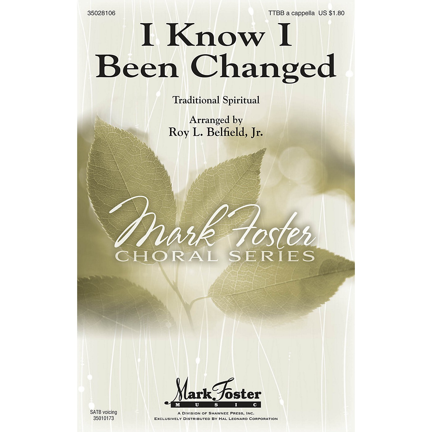 Shawnee Press I Know I Been Changed SATB Arranged by Roy Belfield Jr. thumbnail