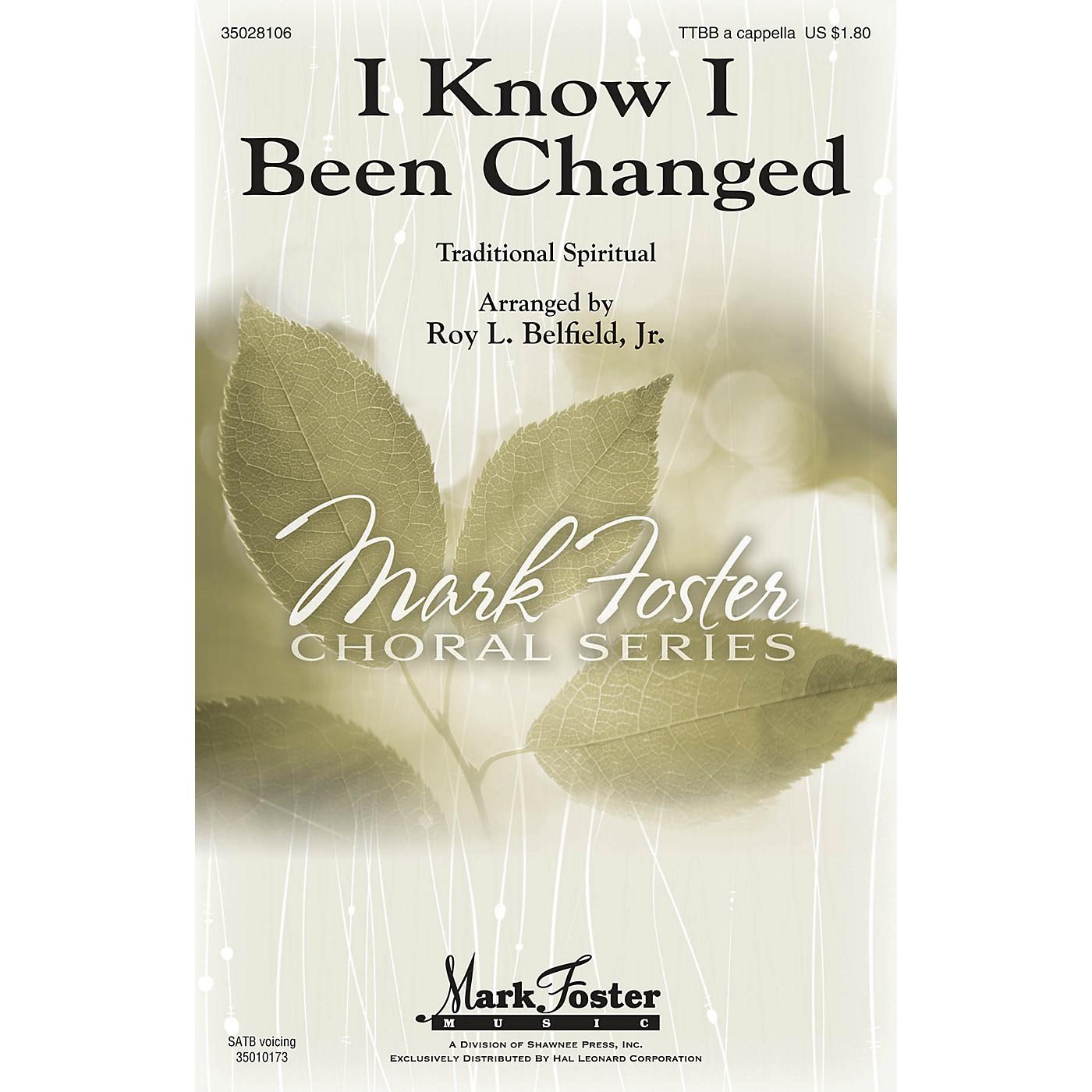 Shawnee Press I Know I Been Changed TTBB A Cappella arranged by Roy Belfield Jr. thumbnail
