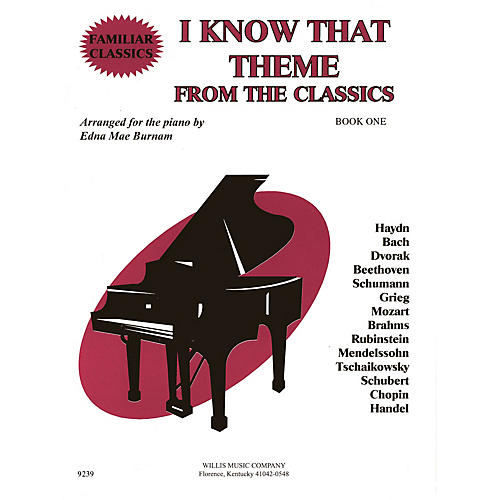 Willis Music I Know That Theme from the Classics (Book 1/Mid-Elem Level) Willis Series thumbnail