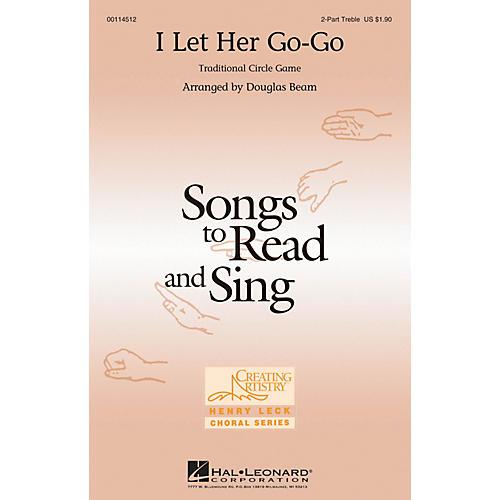 Hal Leonard I Let Her Go-go 2PT TREBLE arranged by Douglas Beam thumbnail