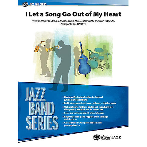 Alfred I Let a Song Go Out of My Head Jazz Band Grade 3 Set thumbnail