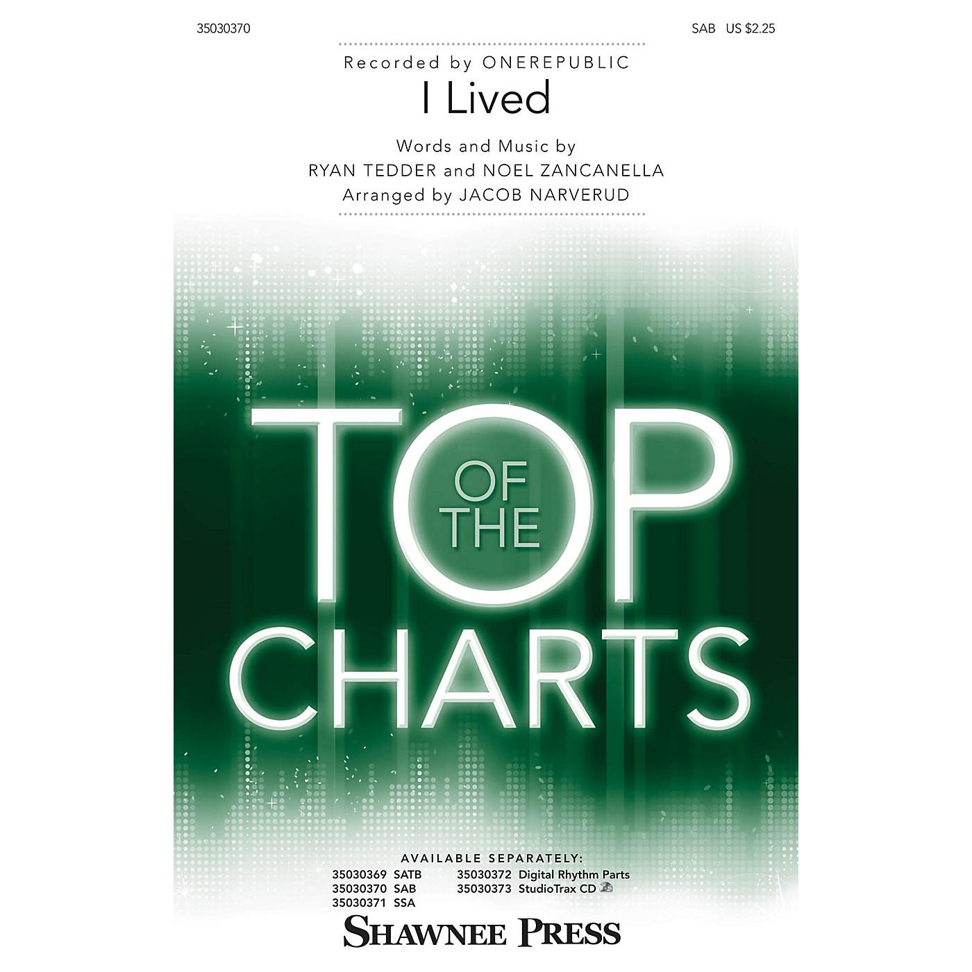 Shawnee Press I Lived SAB by OneRepublic arranged by Jacob Narverud thumbnail