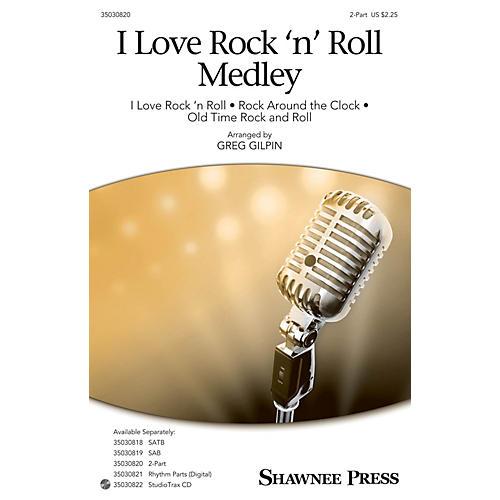 Shawnee Press I Love Rock 'n' Roll Medley 2-Part arranged by Greg Gilpin thumbnail