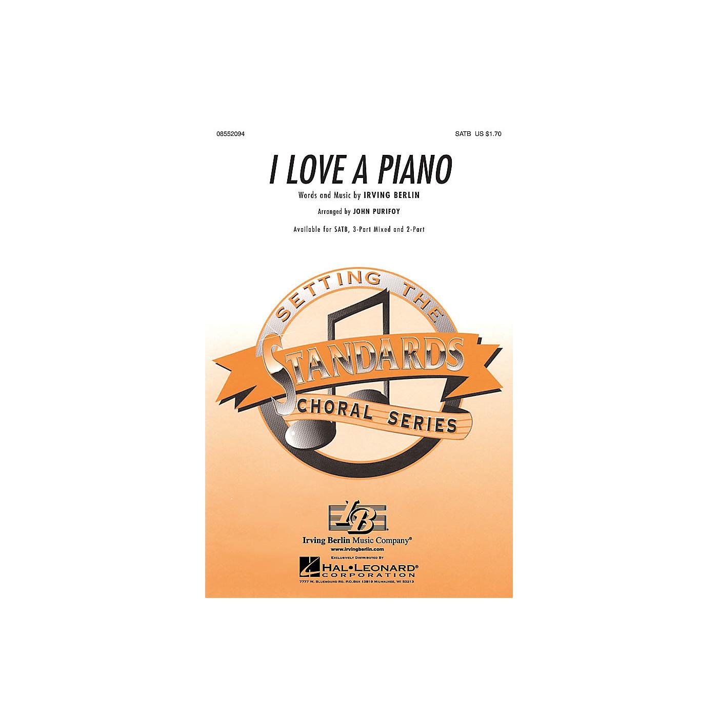 Hal Leonard I Love a Piano 2-Part Arranged by John Purifoy thumbnail