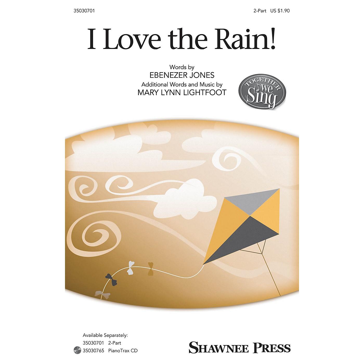 Shawnee Press I Love the Rain! 2-Part composed by Mary Lynn Lightfoot thumbnail