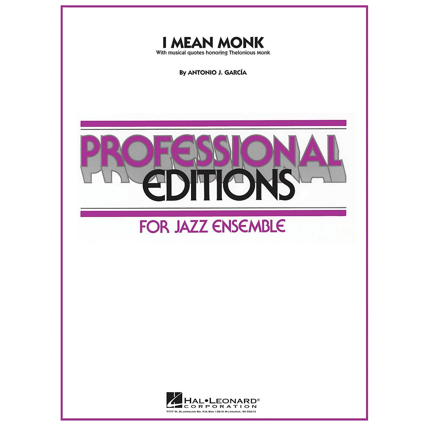 Hal Leonard I Mean Monk Jazz Band Level 5 Composed by Antonio J. García thumbnail