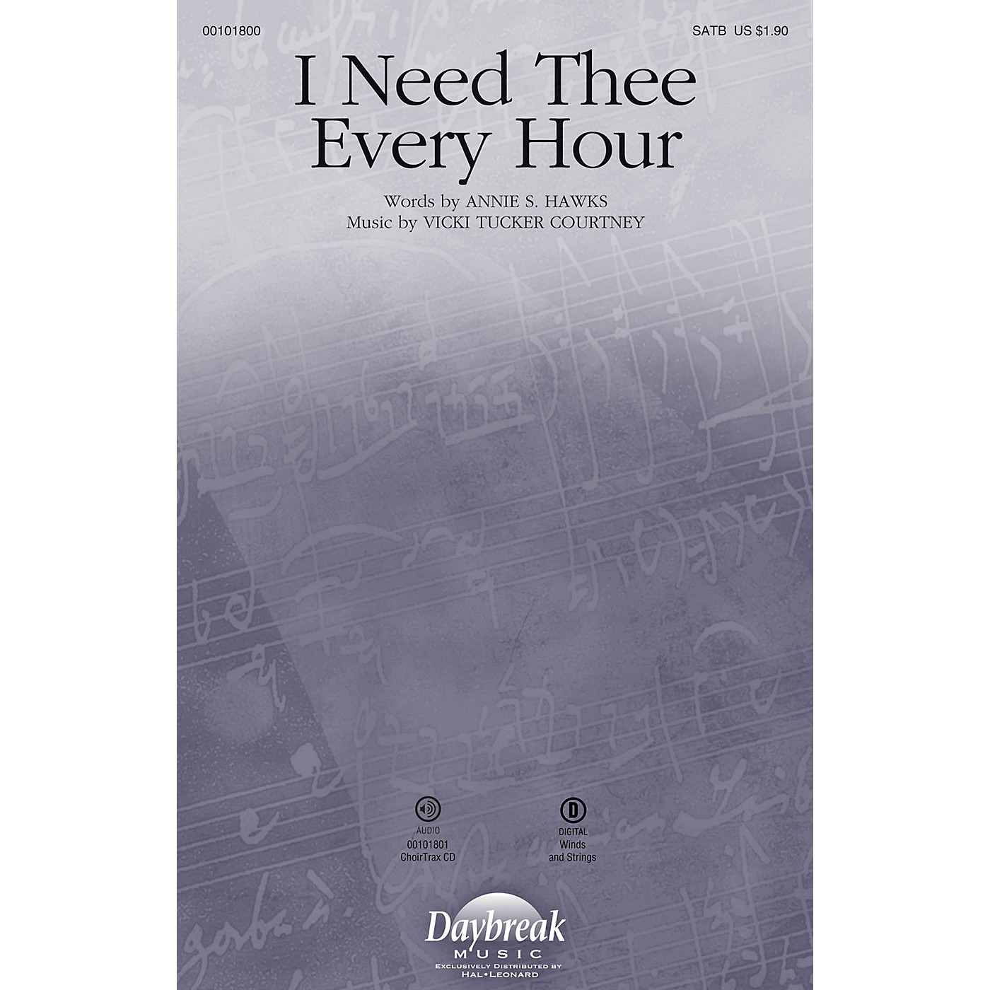Daybreak Music I Need Thee Every Hour CHOIRTRAX CD Composed by Vicki Tucker Courtney thumbnail