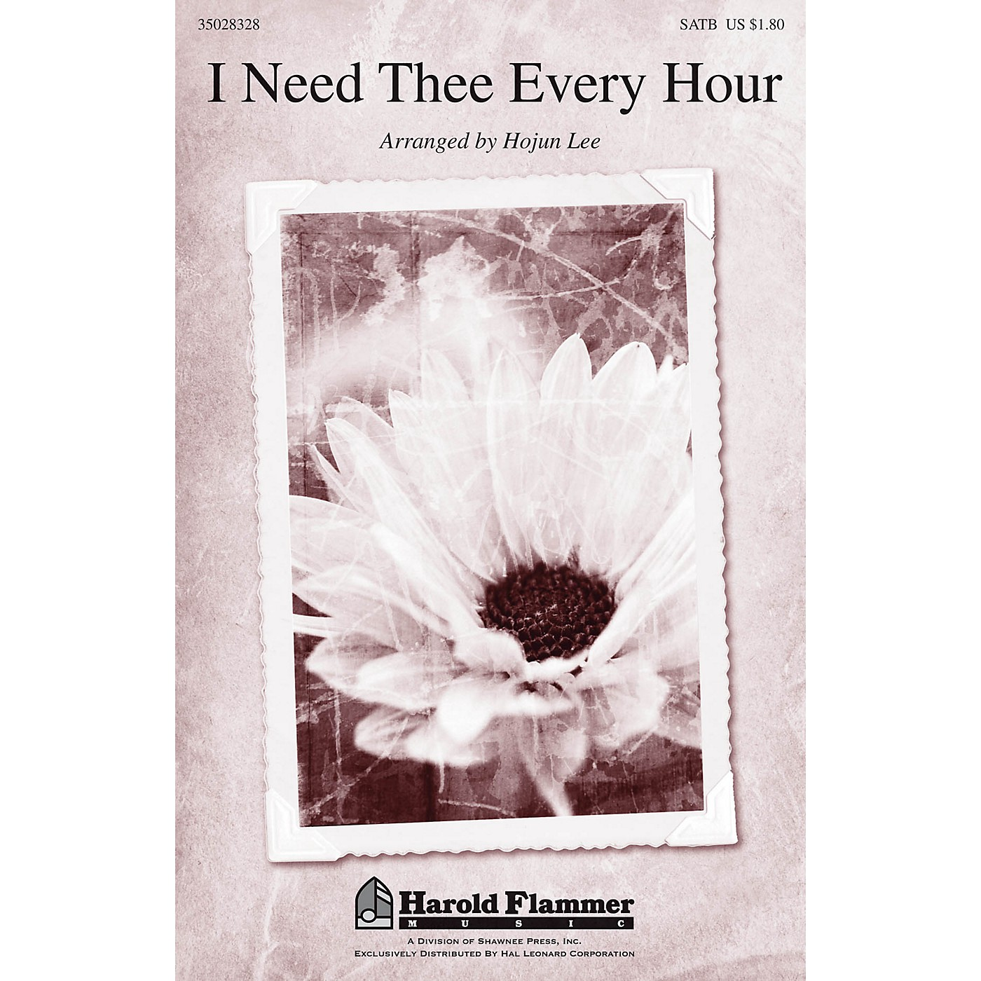 Shawnee Press I Need Thee Every Hour SATB arranged by Hojun Lee thumbnail