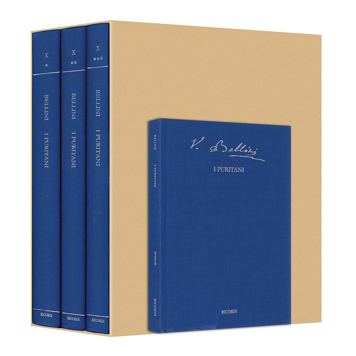 Ricordi I Puritani Bellini Critical Edition Vol. 10 Hardcover by Vincenzo Bellini Edited by Fabrizio Della Seta thumbnail