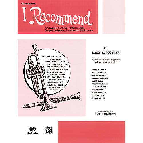 Alfred I Recommend B-Flat Clarinet thumbnail