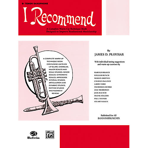 Alfred I Recommend B-Flat Tenor Saxophone thumbnail