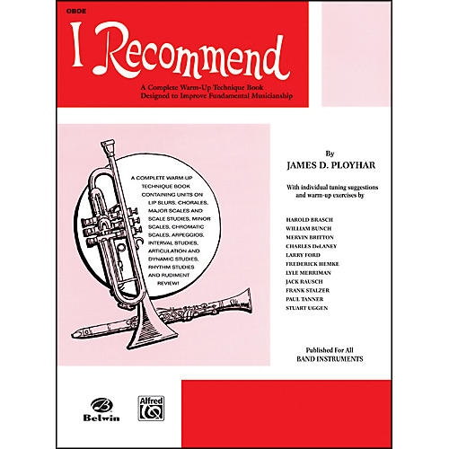 Alfred I Recommend Oboe thumbnail